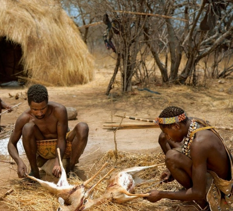 Witness native hunters as they prepare wild game for their table is a must-see in an an African family safari .