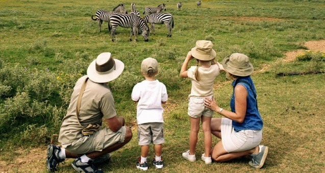 Active safaris - family safari east africa