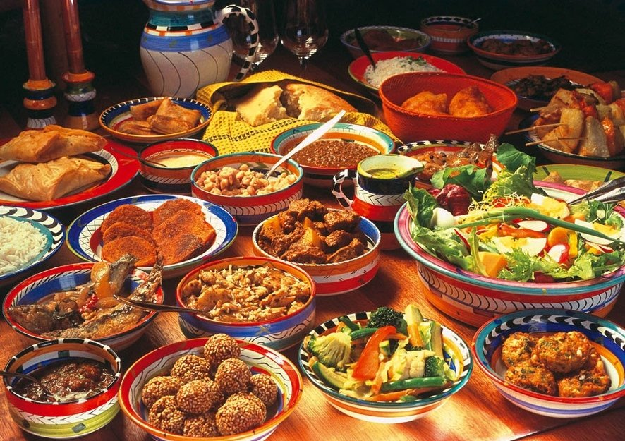 African dishes - Africa experience