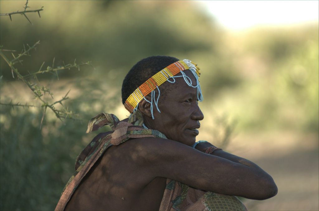 Hadzabe Tribe person